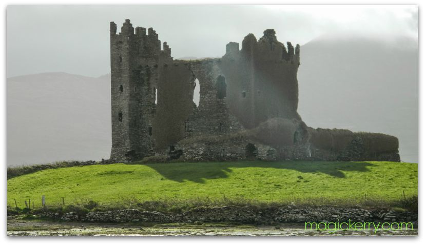 Ballycarbery Castle, Caherciveen