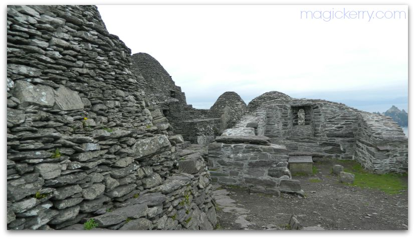 Monastic settlement on Skellig Michael