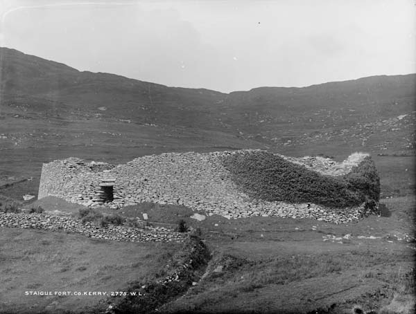 Staigue Fort, circa 1865, no known copyright restrictions