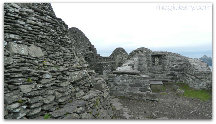 Monastic settlement on Skellig Michael
